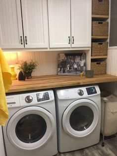 Below are the Farmhouse Laundry Room Storage Decoration Ideas. This article about Farmhouse Laundry Room Storage Decoration Ideas was posted … Tiny Laundry Rooms, Laundry Room Remodel, Laundry Room Cabinets, Basement Laundry, Farmhouse Laundry Room, Laundry Room Organization, Laundry Room Design, Diy Cabinets, Laundry Decor