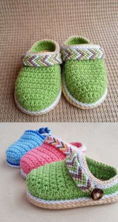 Crochet Baby Booties - Crochet Ankle Boots - Baby Clogs - Tribal Baby Clogs - Baby Shower - DIY Shoes - Crochet Shoes - Clothes for Diy And Crafts Booties Crochet, Crochet Baby Shoes, Crochet Baby Clothes, Crochet Slippers, Baby Booties, Felted Slippers, Crochet Beanie, Ankle Booties, Baby Shoes Pattern