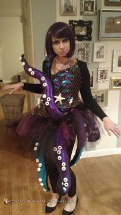 Krake Kostüm selber machen | Kostüm Idee zu Karneval, Halloween & Fasching