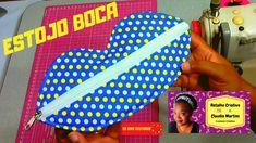 Estojo Boca Facebook, Videos, Youtube, Retail, Creative, Step By Step, Creativity, Scrappy Quilts, School