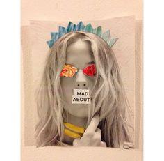 Collage Frida del 2000 Maria blanda