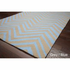 nuLOOM Handmade Alexa Chevron Wool Rug (5' x 8') - Overstock™ Shopping - Great Deals on Nuloom 5x8 - 6x9 Rugs