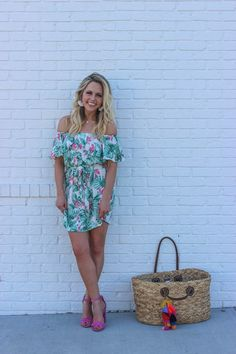 summer trends. how to style palm print. trends for summer 2017.