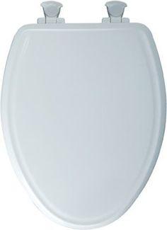 Bemis Mfg 148E2 000 Elongated Molded Wood Toilet Seat with Whisper-Close with Easy-Clean & Change? Hinge, - Quantity 4 Bemis Mfg http://www.amazon.com/dp/B00GRT0FBM/ref=cm_sw_r_pi_dp_BvTdub1EW6GY6