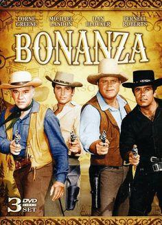 Bonanza Lorne Greene as Ben Michael Landon as Little Joe Dan Blocker as Hoss and Pernell Roberts as Adam Pernell Roberts, Michael Landon, Bonanza Tv Show, Nostalgia, Tv Westerns, Kino Film, Old Shows, Western Movies, Vintage Tv