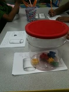 Counting jar - students write the number and then draw a picture