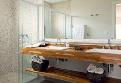 Galeria de fotos: inspire-se em imagens para decorar o banheiro e o lavabo - Casa e Jardim - GALERIA DE FOTOS - Banheiro para dois