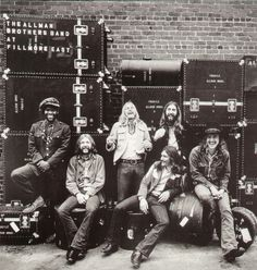 Allman Brothers Band- Live at Fillmore East LP-The Allman Brothers - Live at Fillmore East LP - 2008 vinyl LP reissue of their classic 1971 live album. It has been called one of the greatest live albums of all time. Culled from a series of shows reco Allman Brothers, Lps, Rock N Roll, Jimi Hendricks, Fillmore East, Band Photos, Rock Legends, Blues Rock, Lp Vinyl
