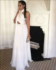 Love this Grecian look especially the braid on Tracee Ellis Ross