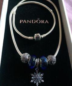 """La mia collana Pandora a tema invernale ❄️☃ My Pandora necklace, Winter-theme ❄️☃ @pandora_magic @pandora_moments  @my_pandora_story @theofficialpandora…"""