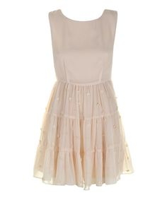 Take a look at this Cream Embroidered Tillie Dress by Darling on #zulily today! Rehearsal Dinner dress?