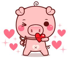 """Pigma : I am called """"Pigma"""" , a cute cuddly pig. I will bring more excitement and fun to your chatting experience. This Little Piggy, Little Pigs, Cute Disney Pictures, Cute Pictures, Cute Animal Drawings, Cute Drawings, Kawaii Pig, Pig Images, Pig Wallpaper"""