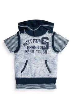 Buy Blue Next Tank And T-Shirt Set (3mths-6yrs) from the Next UK online shop