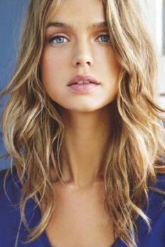 Australian Model Aurelia Gliwski #swoon #beauty #hair