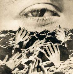 El ojo eterno, hacia 1950 - Grete Stern
