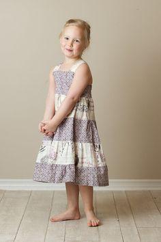 Girl's Dress PDF Sewing Pattern  Super Twirly by Brynnberlee, $7.00