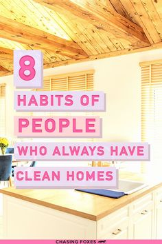 How to clean your house like a pro! These home cleaning hacks are just what I needed to make my house clean and tidy. So glad I found these cleaning tips for my cleaning schedule!