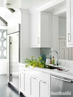 #Kitchen of the Month, December/January 2013. Design: Louise Brooks. Pass-through.