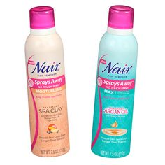 Hair Removal: We love Nair's spray-on alternative ($10; drugstore.com), which allow you to mist the product exactly where you need it, and nowhere else. Even better, the spritzers hold added hydrating and soothing benefits for your skin, thanks to the Moroccan argan oil and Brazilian spa clay-infused formulas. #InStyle