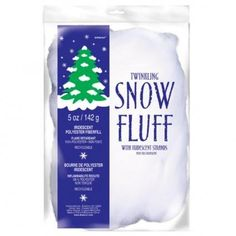 Anagram White Twinkling Snow Fluff Wi…