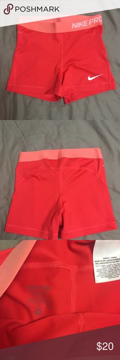 Nike shorts Like new! Nike workout spandex. Nike Shorts