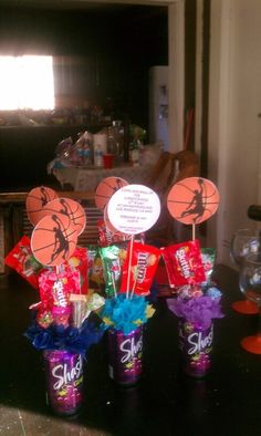 Basketball And Snickers Inspired Candy Bouquet Filled