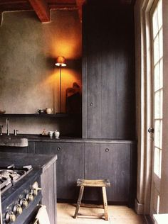 Kitchen design: An incredible interior design tip is applying the wasted space to use. This adds interest to the room more eye-catching and attractive. Interior Exterior, Kitchen Interior, Interior Design, Design Interiors, Rustic Kitchen, Kitchen Decor, Kitchen Design, Kitchen And Bath, New Kitchen