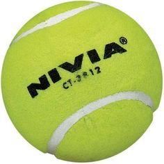 Nivia Yellow Heavy Cricket Hard Tennis Balls (Pack Of 6) Free Shipping