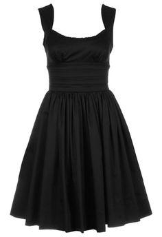 b77f8e23ce Axara Sukienka koktajlowa czarny zalando bawełniane
