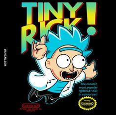 It's me b*tches, Tiny Rick!