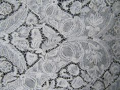 Brussels or Brabant Bobbin Lace ~ 1730