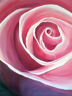"""""""True love"""" on a 16x20 canvas.. Painted for a friend in June 2014 by Jody Vitarelli"""
