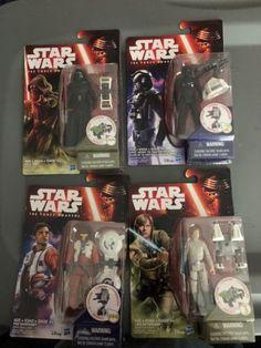#starwars Star Wars Force Awakens Lot 4 Figures New in Box