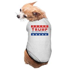 TRUMP MAKE AMERICA GREAT AGAIN Pet Dogs T Shirts Sleeveless Dress ** Check this useful article by going to the link at the image.