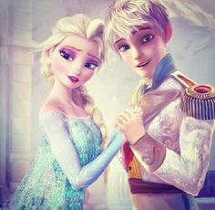 Jelsa. Please make this happen. They need to be together even if the r from two different companies. Make it happen DreamWorks and Disney. Please? ^~^