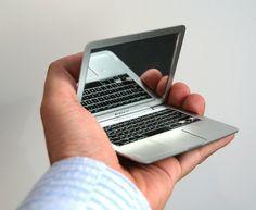 Compact Mirror.  MacBook Air