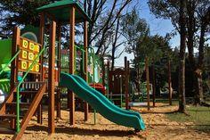 Playground Infantil do Hotel Alpestre em Gramado