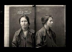 foto segnaletiche, anni 1920 ca.