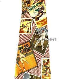 Brooks Brothers Silk Tie Baseball Equestrian Tennis Sports Brown Mens Necktie #BrooksBrothers #NeckTie