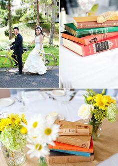 scrabble table number centerpiece #wedding
