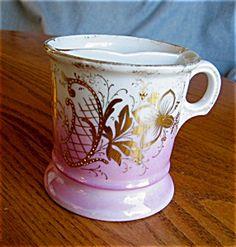 Vintage shaving mug for sale at More Than McCoy on TIAS at http//www.morethanmccoy.com