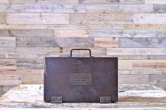 Vintage Steel Brewery Toolbox, The Vilter Mfg. Co. Milwaukee, Wisconsin…