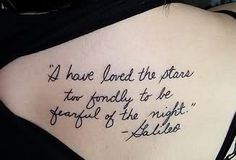 Galileo.....even though this is beautiful, I am still afraid of the dark