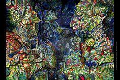 Ayahuasca vision original by willowhole (print image)