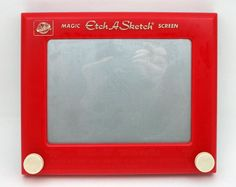 Etch A Sketch. Just like an iPad. Not.