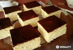 Skót krémes (citromos is lehet) Hungarian Desserts, Hungarian Cake, Romanian Desserts, Hungarian Recipes, Sweet Cookies, Sweet Treats, Czech Desserts, Smoothie Fruit, Cookie Recipes