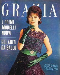 Settimanale femminile Grazia 11 febbraio 1962