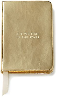 """It's Written in the Stars"""" Mini Notebook"""