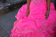 Celebration time... Glittering in pink finery.  Log onto www.fotosingh.in for Global Workshops in 2015.