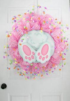 Bunny Bottom Wreath